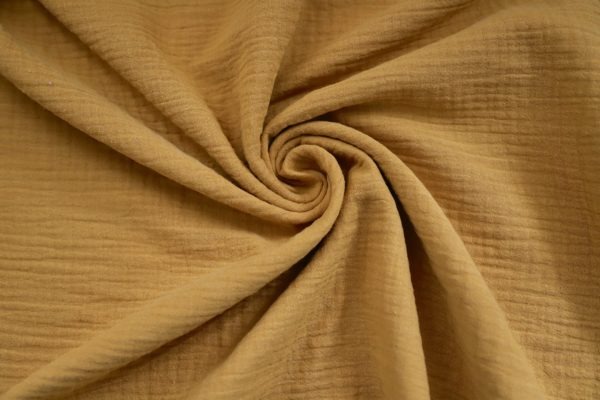 mustard coloured fabric